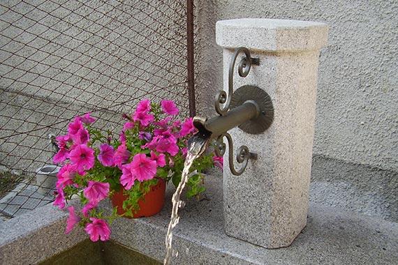 Realizzazione fontane cogne