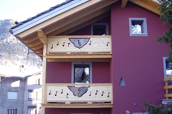Realizzazione balconi cogne