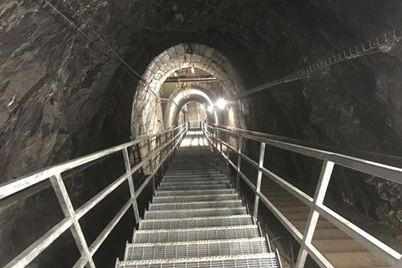 Scala miniera Cogne