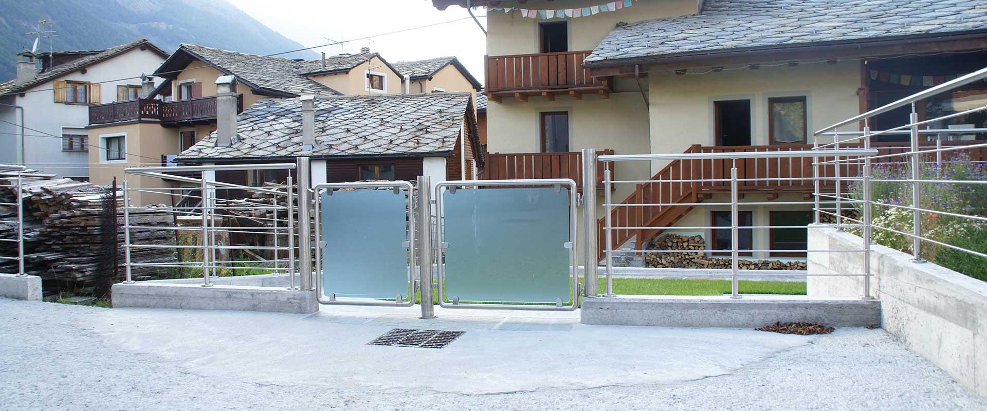 Fabbro, carpenteria metallica, Cogne