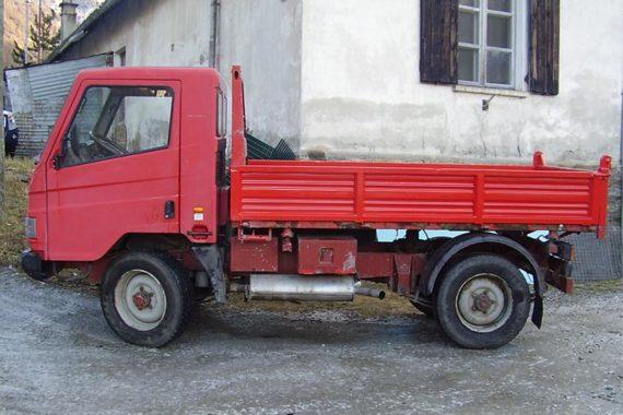 Realizzazione spondine per camion Cogne